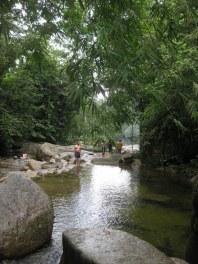 Small pool area