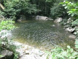 Large bathing area