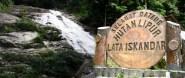 Lata Iskandar Welcome Sign