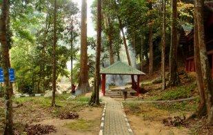 Resting hut