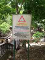 Warning about health risk