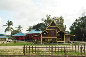 Malay traditional house.