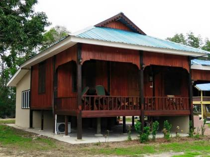 One of the chalet.