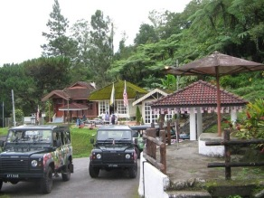 Some of rest houses.