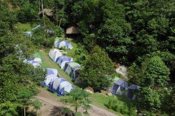 Campsite.