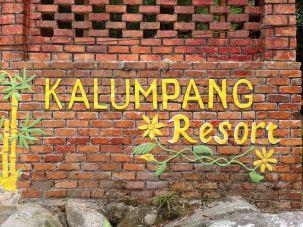 Main sign.