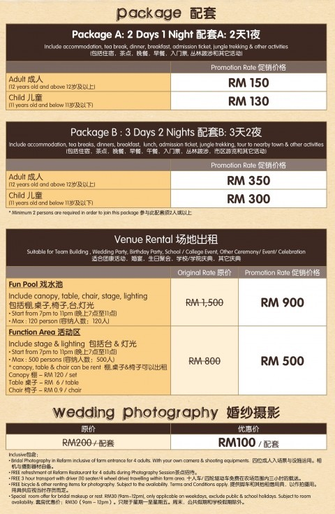 Packages Pricing