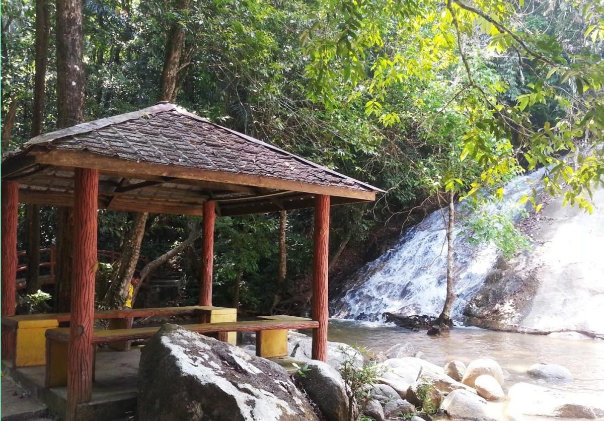 Salu Waterfall, Jeram, PERAK