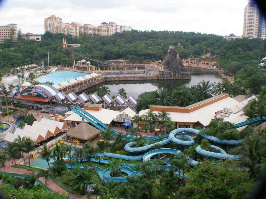 View from Sunway Resort.