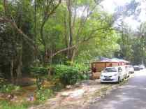 View frim road side.
