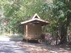 Rest hut for rent.