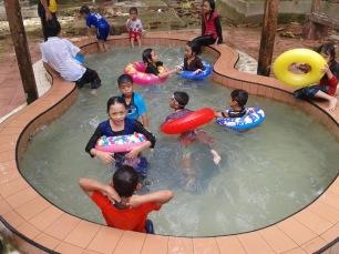 Pool for children.