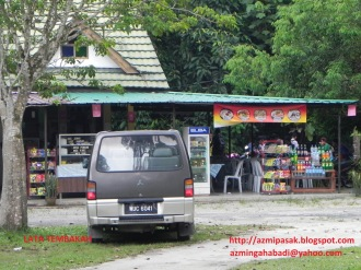 Food stall.