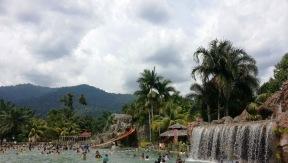 Big swimming pool.