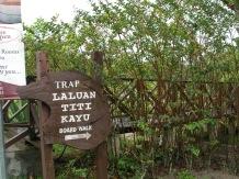 Laluan Titi Kayu.