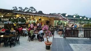 Open restaurant.