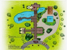 Heritage Village Map.