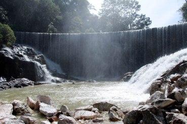 Dam view.
