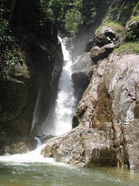 Powerful waterfall.