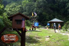 Ranger's hut.