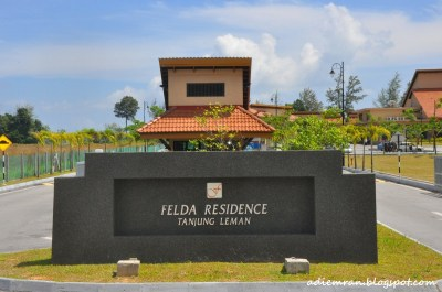 Felda Residence Tanjung Leman, Mersing, JOHOR
