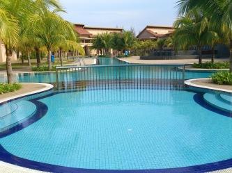 Open pool.