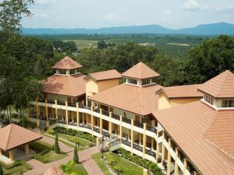Resort building.