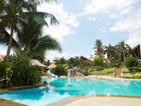 Outdoor pool.