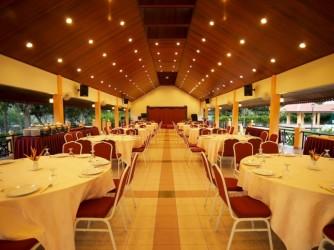 Banquet hall.