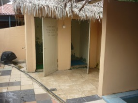 Toilets.