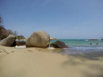 Beach.