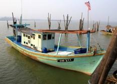 Fishermen boat.