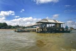 Boat jetty.