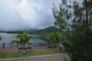 View of Beris Lake.
