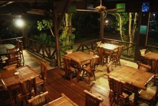 Restaurant inside.