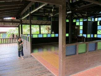 Prayer hall.